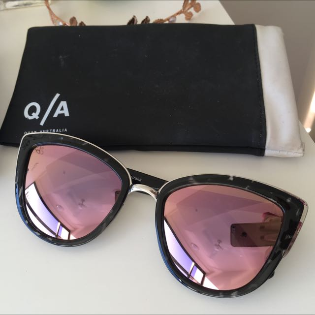 Quay Sunglasses - My Girl 2.5 - Tortoise Shell with Pink