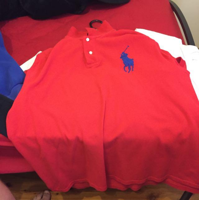 Ralph Lauren Polo Red - XXL