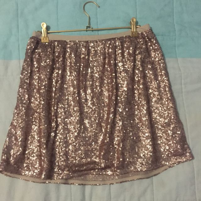 Sequin Skirt Size 8-10