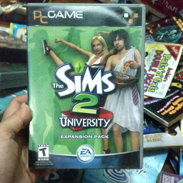 Sims 2 Game University Expansion Pack