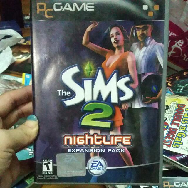 Sims 2 Nightlife Expansion Pack