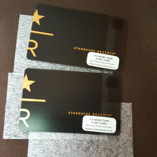 Singapore starbucks reserve card tickets vouchers gift cards photo photo photo negle Images