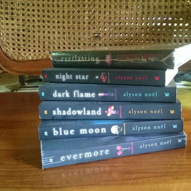 The Immortal Series By Alyson Noel