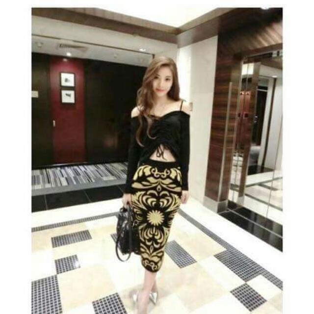 Top & Maxi Skirt