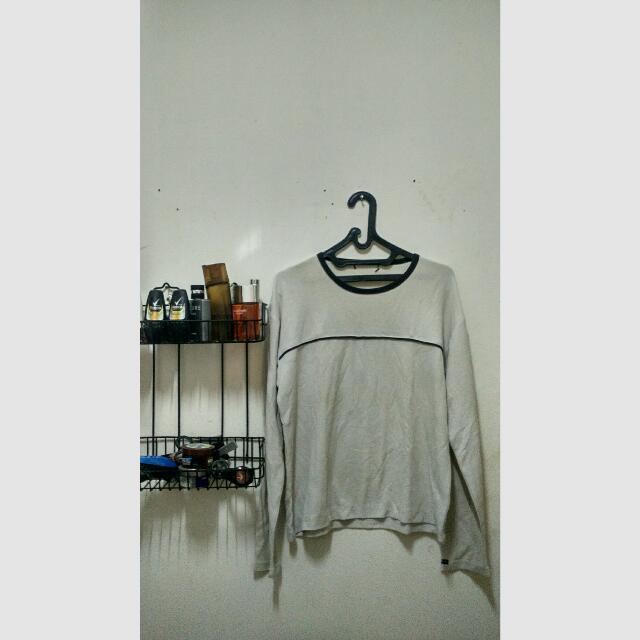 T-shirt Lengan Panjang Giordano (Pria)