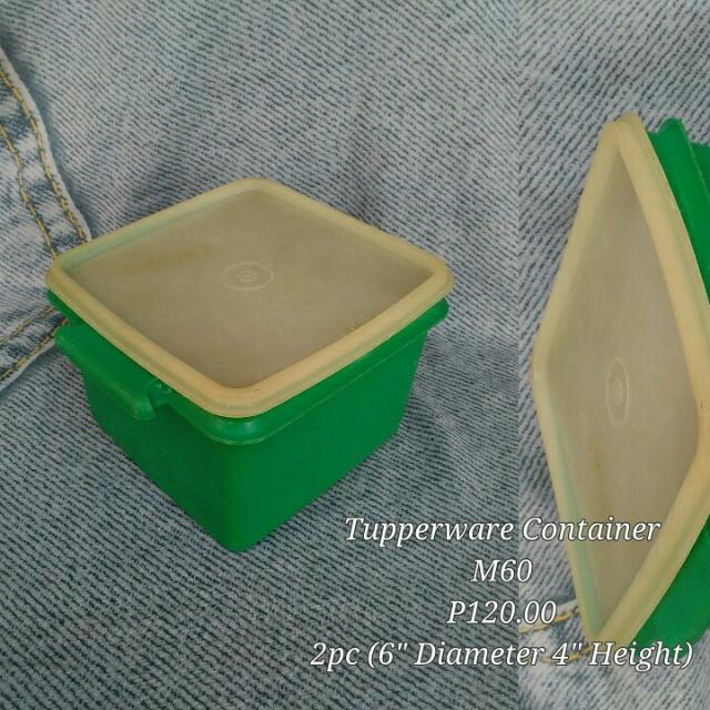 Tupperware Food Container