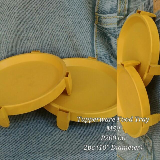 Tupperware Food Tray