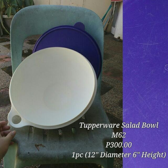 Tupperware Salad Bowl