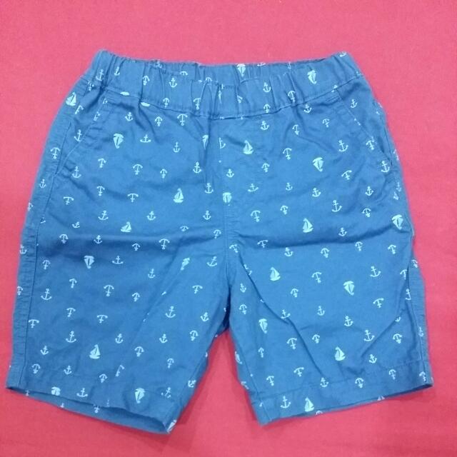 Uniqlo 童短褲 (航海系列)