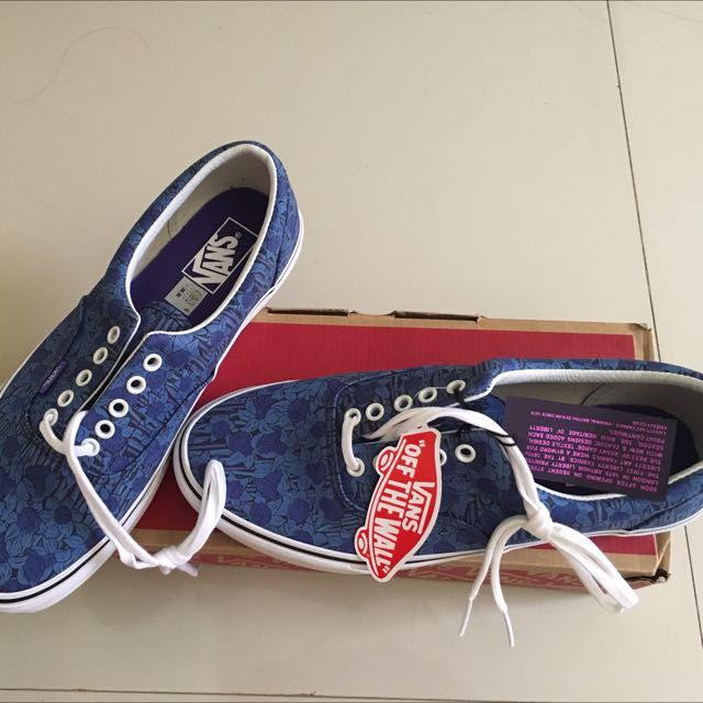 bb78e84a79fa91 VANS Era Liberty Blue Floral Stripe