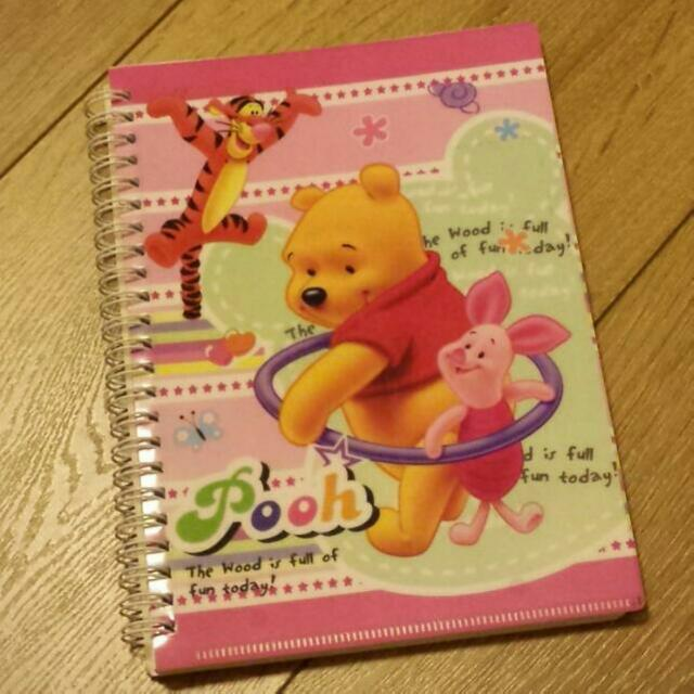 Winnie The Pooh Notebook And Plain Sketch Pad