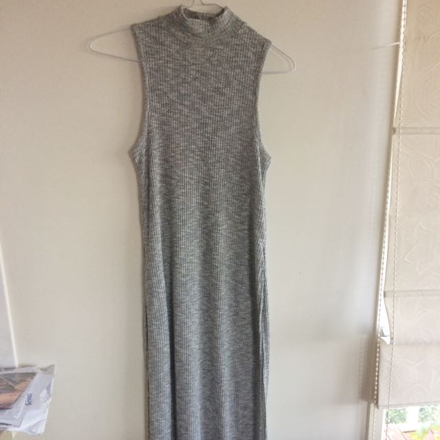 Witchery Long Top Grey Xs 8