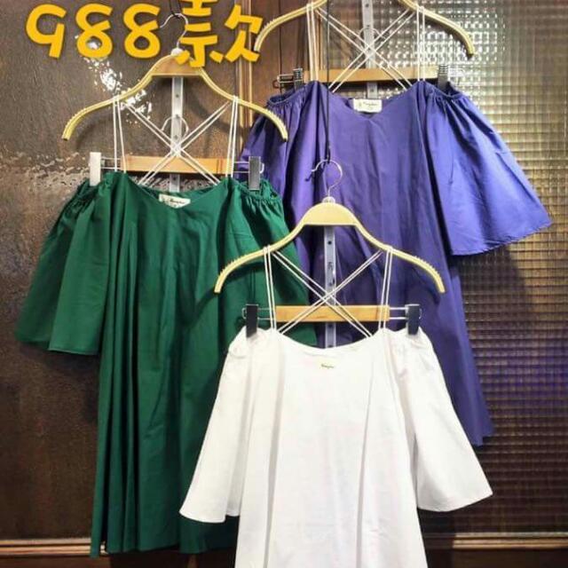 X帶ㄧ字傘洋裝(含運)