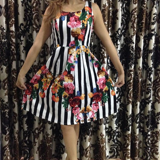 Zalora Flower Dress