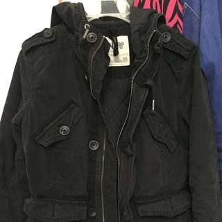 TNA Jacket Color Black Size Xs