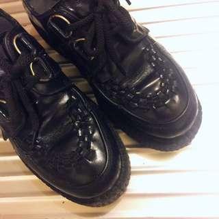 Underground 龐克鞋 真皮
