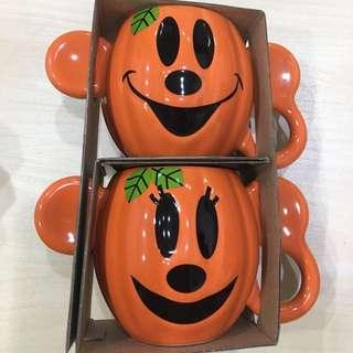 日本迪士尼 米奇米妮萬聖節限定馬克杯