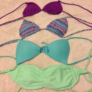 bikini tops! ❤️