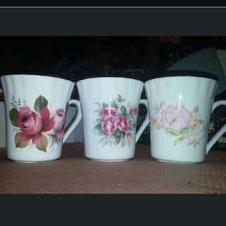 Bone China Cups From England