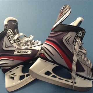 Unisex Bauer Skates Size 12 Youth