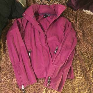 Purple/pink Bench Jacket