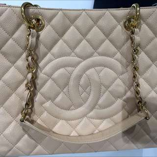 AUTHENTIC CHANEL Grand Shopping Tote - Large