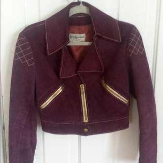 Vintage Moto Jacket
