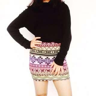Asos Tribal Mini Skirt
