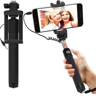 Handheld Selfie Stick Universal Fit WIRED