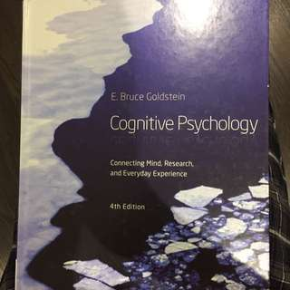 COGNITIVE Psychology - E Bruce Goldstein, 4th Edition