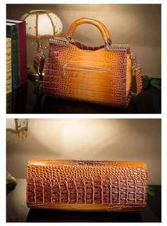 Crocodile Leather Handbags