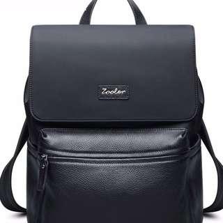 genuine leather backpacks for men