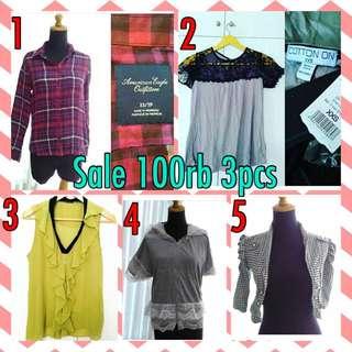 Sale!! 100rb 3pcs