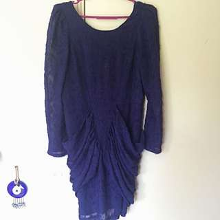 Purple BYSI party dress
