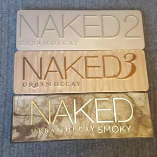 Replica Nake Palettes 2, 3 And 4