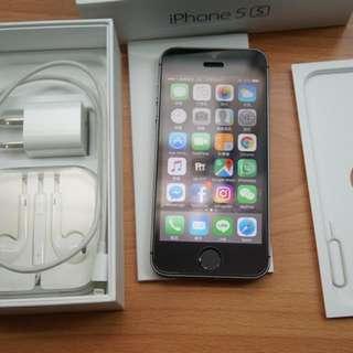 近全新 iPhone 5S 16G 外觀近全新 沒換過整新機 備用機 剛換電池