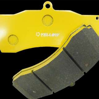 Yellowspeed 500 Degree 6pot Brake Pads