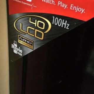 TV LCD JVC 40 Inc