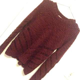 Forever 21 Knitted Sweater L/G