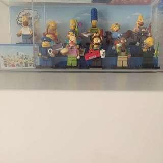 The Simpsons Season 1 Lego Mini Figurines