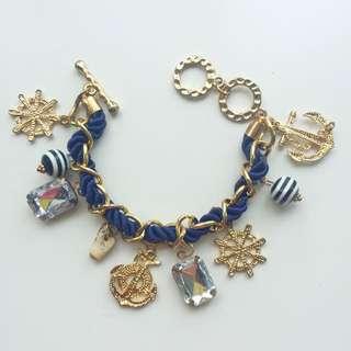 Gelang Korea Nautical Diamond Beads