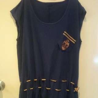 Sailor Navy Blue Dress