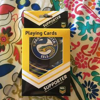 Parramatta Eels Playing Cards
