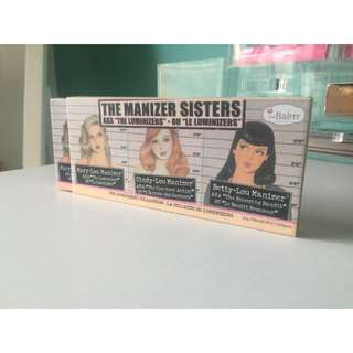 THE BALM | MANIZER SISTERS PALETTE
