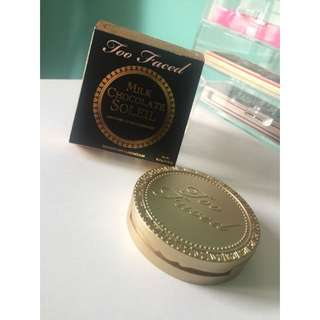 TOO FACED | MILK CHOCOLATE SOLEIL BRONZER