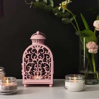 [NEW] Lentera lilin pink