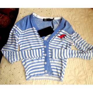 Agnes B. 恐龍 3號 針織 長袖 外套 全新 S XS 歐系品牌 降價中