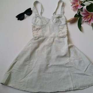 A&F Acid Wash Dress XS