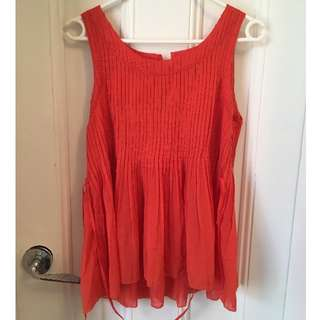 Beautiful Anthropology Top Size 10