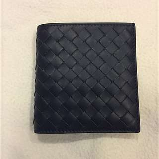 *NEW* Bottega Veneta Men's Bi-fold Wallet - Dark Blue